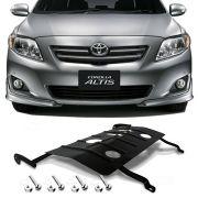 Protetor de Carter Completo Toyota Corolla 2008 09 10 11 12 13 14 Com Parafusos Fixadores