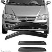 Calha Defletor De Chuva Fiat Idea 2005 / 2015 - 4 Portas