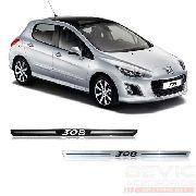 Kit Soleira Premium Resinada Porta Peugeot 308 2013 / 15
