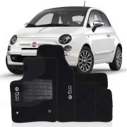 Tapete Carpete Tevic Fiat 500 2010 11 12 13 14 15