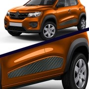 Adesivo Faixa Lateral Renault Kwid 2017 Até 2019