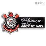 Adesivo Licenciado Corinthians Garra e Determinação