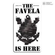 Adesivo Licenciado Corinthians The Favela is Here