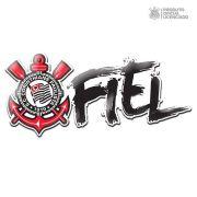 Adesivo Licenciado Corinthians Torcida Fiel Oficial