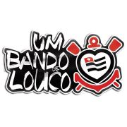 Adesivo Licenciado Corinthians Um Bando de Louco