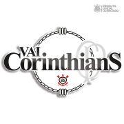 Adesivo Licenciado Oficial Vai Corinthians