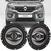Alto Falante Positron 4 Polegadas Triaxial 90w Rms 4 Ohms Renault Kwid 2 Peças