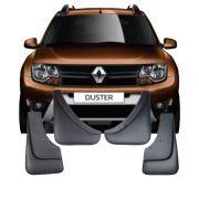 Apara Barro Flap Lameiro Renault Duster 2016 17 18 19 20 Tg Poli 4 Peças