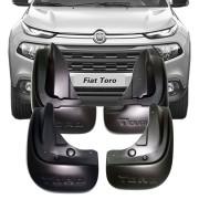 Apara Barro Flap Lameiro Fiat Toro 2016 17 18 19 Tg Poli 4 Peças