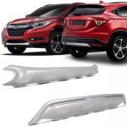 Aplique Protetor Para-choque Dianteiro e Traseiro Honda Hvr Hr-v 2015 16 17 18 19