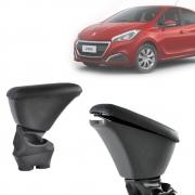 Apoio de Braço Central Com Porta Objetos Peugeot 208 2013 14 15 16 17 18 19 20 21