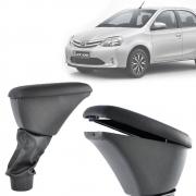 Apoio de Braço Central Com Porta Objetos Toyota Etios 2012 13 14 15 16 17 18 19 20 21