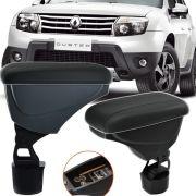 Apoio Descansa Braço Com Porta Objetos Rebatível Renault Duster 2011 12 13 14 15 16 17 18 19
