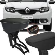 Apoio Descansa Braço Com Porta Objeto Rebatível Renault Sandero 2007 Até 2017