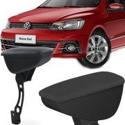 Apoio Descansa Braço Com Porta Objetos Rebatível Volkswagen Gol G4 G5 G6 G7 2005 Até 2017