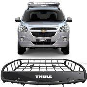 Bagageiro Gradeado Aberto Thule Canyon 859 Xt 68 Kg Chevrolet Spin 2012 Até 2018
