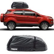 Bagageiro Maleiro de Teto Thule Ford Ecosport 2013 Até 2018 Ranger 90 Impermeável 280 Litros