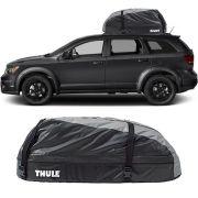 Bagageiro Maleiro de Teto Thule Dodge Journey 2007 a 2018 Ranger 90 Impermeável 280 Litros
