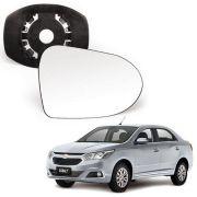 Base Espelho Retrovisor Chevrolet Cobalt 2013 14 15 16 17 18 19 Completo Acompanha Espelho