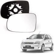 Base Espelho Retrovisor Chevrolet Corsa / Montana 2003 04 05 06 07 08 09 10 11 12 13 14 15 Completo Acompanha Espelho