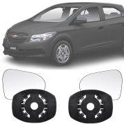 Base Espelho Retrovisor Chevrolet Onix / Prisma 2013 14 15 16 17 18 19 Completo Acompanha Espelho
