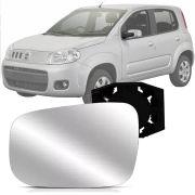 Base Espelho Retrovisor Fiat Uno Vivace 2012 13 14 15 16 17 18 19 Completo Acompanha Espelho