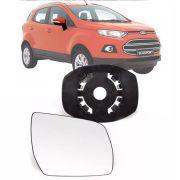 Base Espelho Retrovisor Ford Ecosport 2013 14 15 16 17 18 Completo Acompanha Espelho