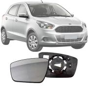 Base Espelho Retrovisor Ford Ka Ka+ 2014 15 16 17 18 19 Completo Acompanha Espelho