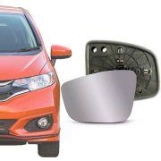 Base Espelho Retrovisor Honda New Fit 2015 16 17 18 19 20 City 2015 16 17 18 19 20 Completo Acompanha Espelho