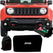 Bolsa Organizadora Porta Mala Tevic Jeep Renegade C/ Velcro Para Fixação 14 Litros