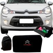 Bolsa Organizadora Porta Mala Tevic Citroen C3 Com Velcro Fixador
