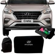 Bolsa Organizadora Porta Mala Tevic Hyundai Creta Com Velcro Fixador