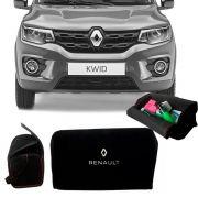 Bolsa Organizadora Porta Mala Tevic Renault Kwid Com Velcro Fixador 14 Litros