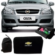 Bolsa Organizadora Porta Mala Tevic Chevrolet Celta Com Velcro Fixador