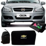 Bolsa Organizadora Porta Mala Tevic Chevrolet Celta Com Velcro Fixador 14 Litros