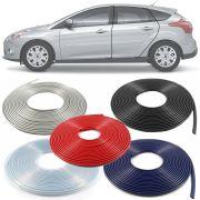 Borracha Protetor de Borda Ford New Focus 2014 15 16 17 18 19 - 10 Metros Fabricado em PVC Encaixe Autoadesivo