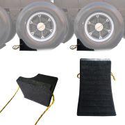 Calço de Borracha Para Pneu de Caminhão Utilitário SUV Picapes 1 Peça