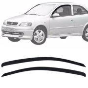 Calha de Chuva Esportiva Chevrolet Astra Hatch 1999 Até 2011 2 Portas EcoFlex