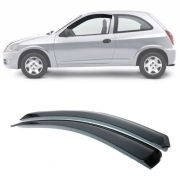 Calha de Chuva Esportiva Chevrolet Celta 2000 Até 2015 2 Portas Fumê