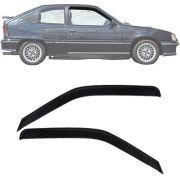 Calha de Chuva Esportiva Chevrolet Kadett 1988 Até 1998 2 Portas Fumê