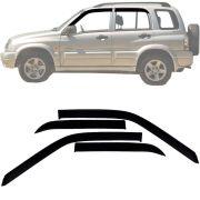 Calha de Chuva Esportiva Chevrolet Tracker 2000 Até 2011 Fumê