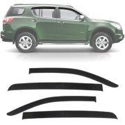 Calha de Chuva Esportiva Chevrolet Trailblazer 2013 14 15 16 17 Fumê