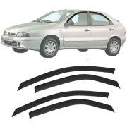 Calha de Chuva Esportiva Fiat Brava 1999 00 01 02 03