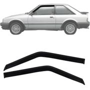 Calha de Chuva Esportiva Ford Escort Hobby 1984 Até 1996 2 Portas Fumê