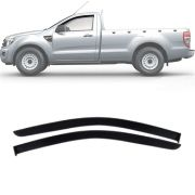 Calha de Chuva Esportiva Ford Ranger 2013 14 15 16 17 18 Cabine Simples Tg Poli
