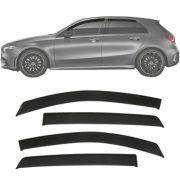 Calha de Chuva Esportiva Mercedes Classe A Todos 4 Portas Fumê