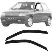 Calha de Chuva Esportiva Renault Clio Fase 1 (Argentino) 1996 97 98 99 2 Portas Fumê
