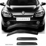 Calha de Chuva Esportiva Renault Fluence Todos Fumê