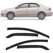 Calha de Chuva Esportiva Toyota Corolla 2008 Até 2014 Fumê