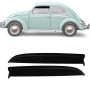 Calha de Chuva Esportiva Volkswagen Fusca 1971 Até 1994 2 Portas Fumê